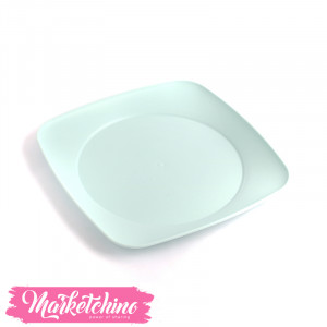 Bager Plastic Service Plate -Baby Blue(Medium)