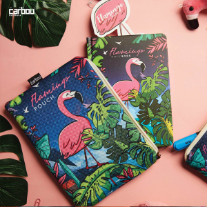 Notebook With Cover Flamingo