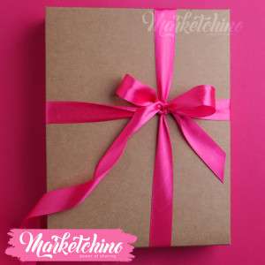 Ribbon-Gift Box-Fuchsia