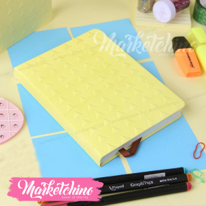 Notebook Triangle Small-Yellow