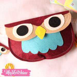 Pencil Case-Owl