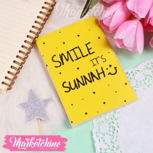 Notebook-Smile It's Sunnah-Small