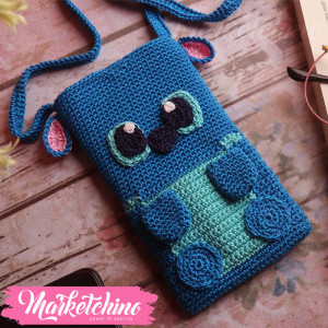 Mobile Cover-Stitch-Blue
