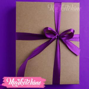 Ribbon-Gift Box-Purple