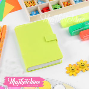 Notebook-Silicone-Green