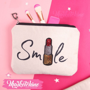 Make Up Bag-Smile