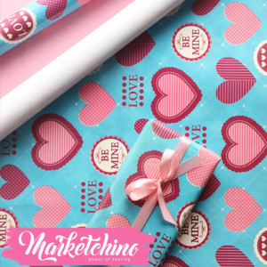 Paper Gift wrapping-Heart 6