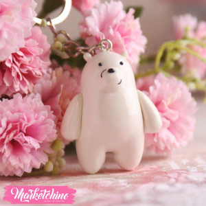 Keychain-We Bare Bears-Ice Bear