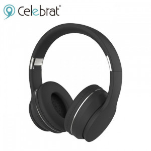 Celebrat-Wireless Earphones( SKY-6 ) Black