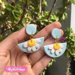 Earring-Daisy Flower