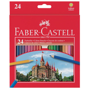 Coloring Pencils Faber Castel Set Of 24