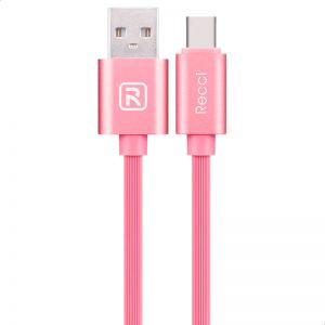 Recci-USB DATA CABLE-Micro (u 150) PinkI  (Micro usb)