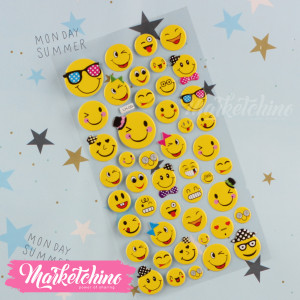 Stickers-Smile Face 15