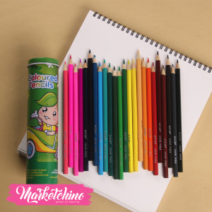 Little pine Tree Set Of 24 Coloring pencils