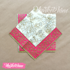 Tissue for Decoupage-Gold&Red