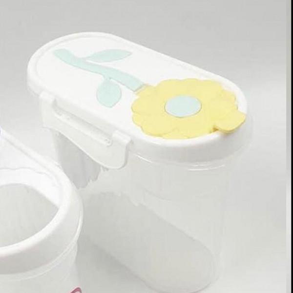 Plastic Storage Food-Yellow(1.7 L)