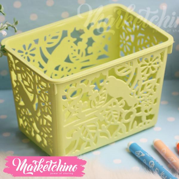 Acrylic Basket-Green