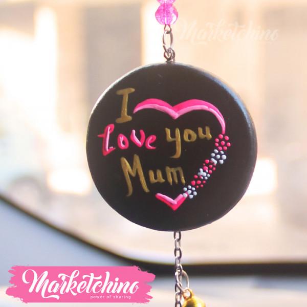 Car Charm-I Love Mum