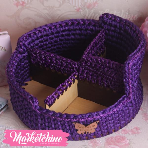 Crochet  Organizer Basket
