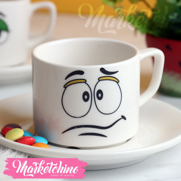 Cup &Plate--M&M'S-Yellow