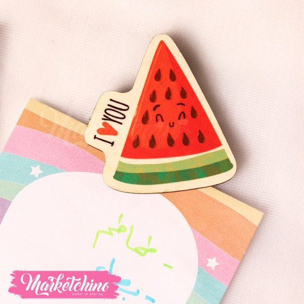Magnet-Watermelon-Red