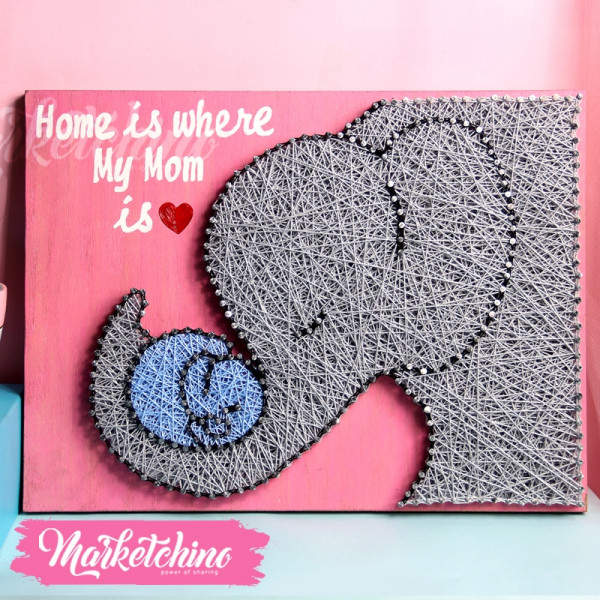Tableau-Home Is Where My Mom Is