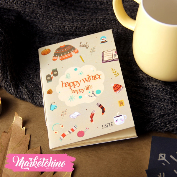 Sketch Book Happy Winter-Small