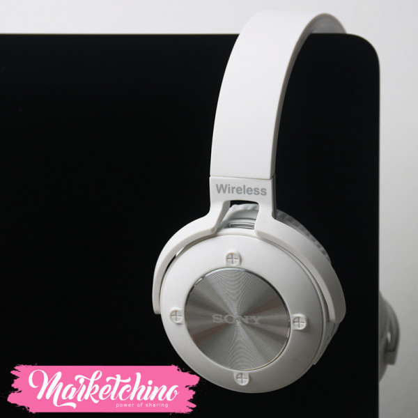 Sony Wireless Headphone (Scalable TF Card   K1) White