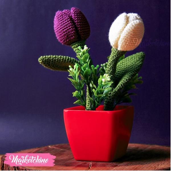 Flower Vase Crochet - Buy best Handmade Products in Egypt with best Prices | Marketchino & Flower Vase Crochet - Buy best Handmade Products in Egypt with best ...