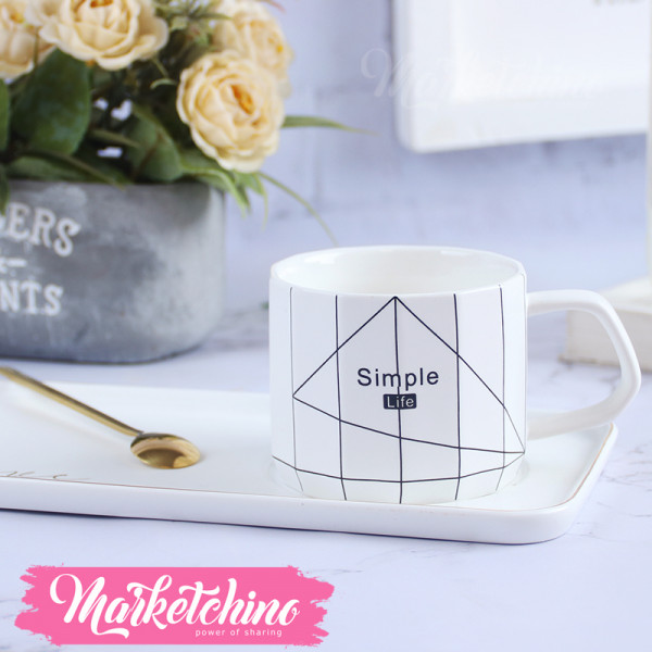 Cup & plate Simple