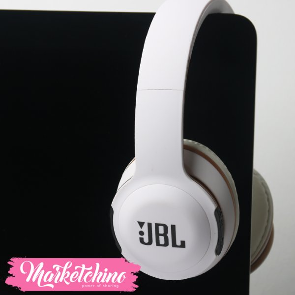 JBL Wireless Over-Ear Headphone  ( E17BT) White