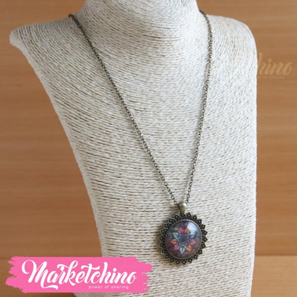 Necklace-Mandala-Brown