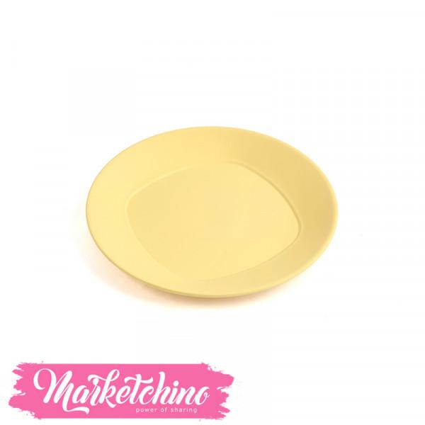 Bager Plastic service  Plate -Yellow (Medium)