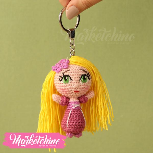 Keychain-Rapunzel